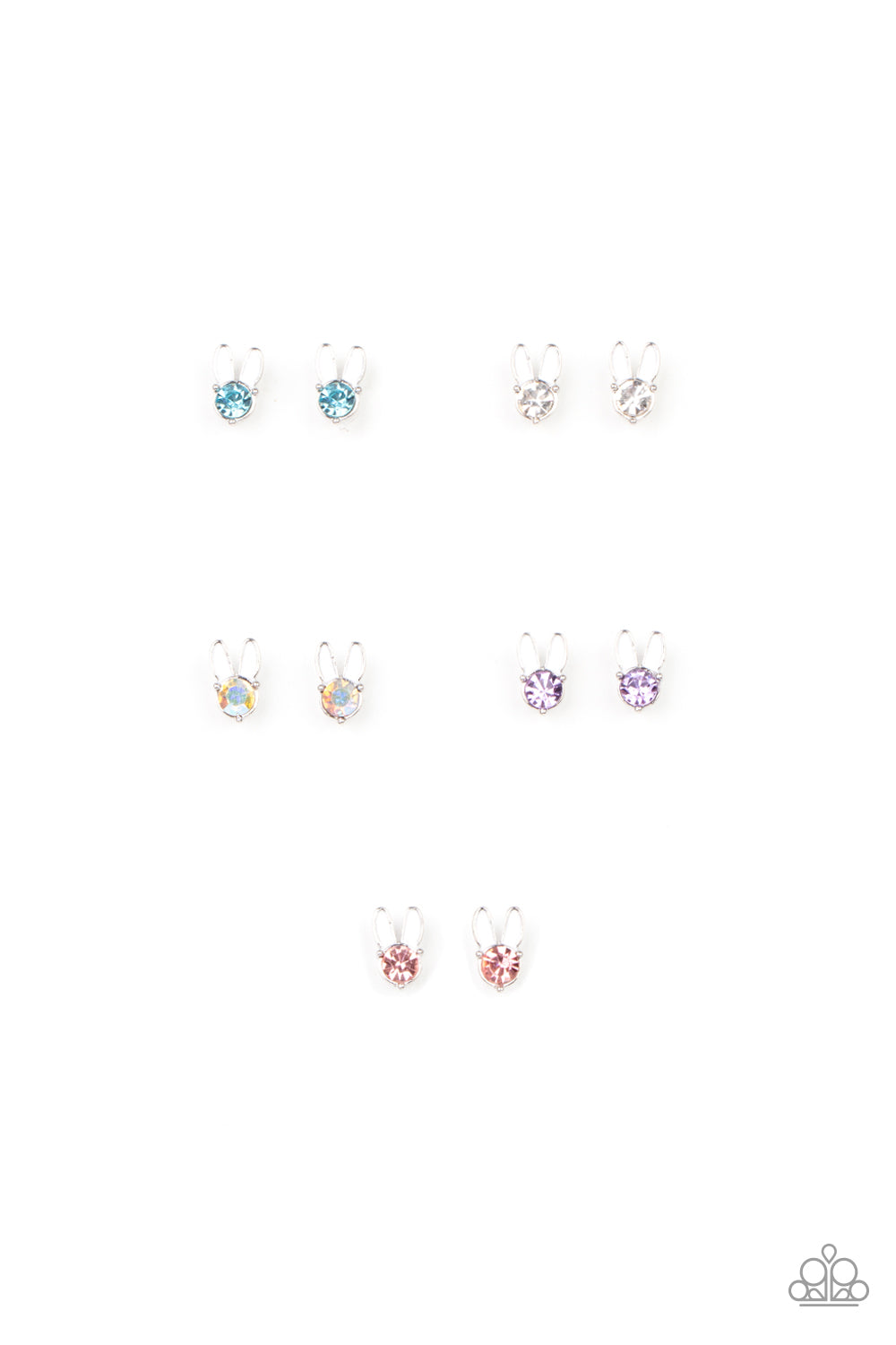 starlet shimmers (bunny earrings)
