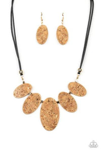 Natures Finest Gold Necklace - Paparazzi Accessories