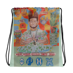 Protect Your Peace Drawstring Bag
