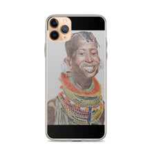 Load image into Gallery viewer, Maasai Divine Queen iPhone Case