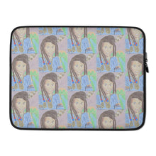 Load image into Gallery viewer, Indigenous Divine Queen Laptop Sleeve