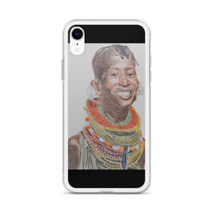 Maasai Divine Queen iPhone Case