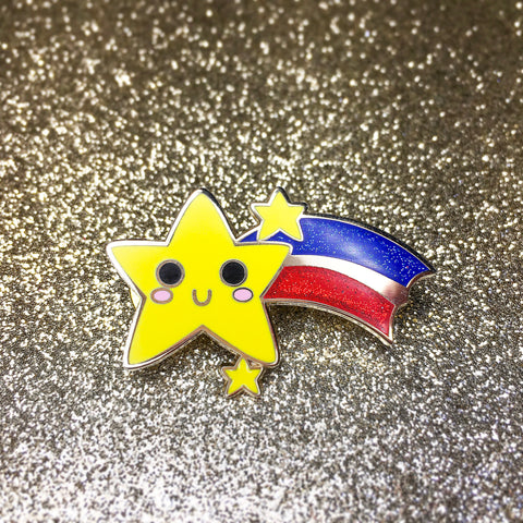 Shooting Stars - Pin
