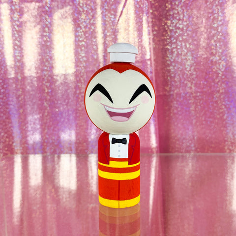 Big Jollibee - Kokeshi Art Toy Doll