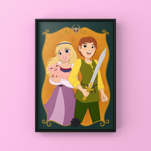 "The Black Cauldron 5x7"" Art Print"