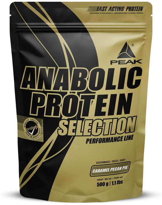 Peak Performance Anabolic Protein Selection, 500 g bag