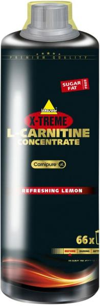 inkospor X-Treme L-Carnitine concentrate, 1 l bottle, Refreshing Lemon