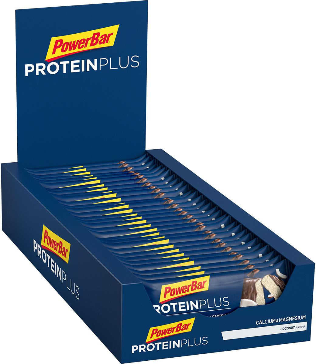 PowerBar Protein Plus + Minerals, 30 x 35 g bars, coconut