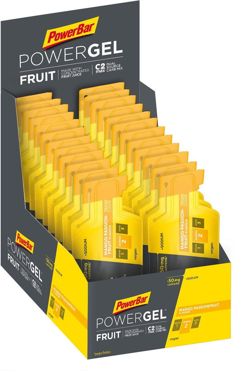PowerBar Powergel Fruit, 24 x 41 g bags