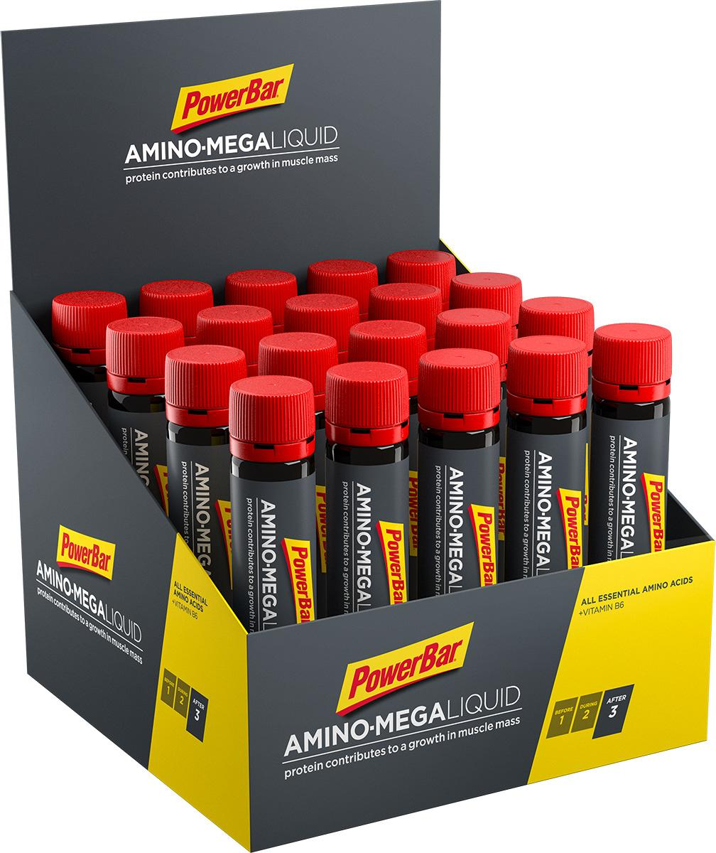 PowerBar Amino Mega Liquid, 20 x 25 ml ampoules, neutral