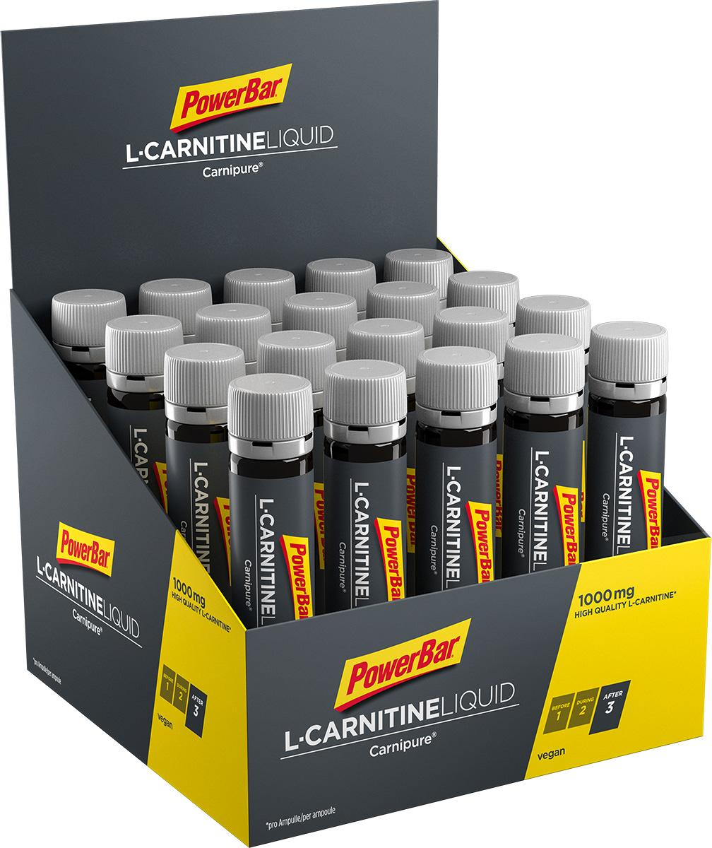 PowerBar L-Carnitine Liquid, 20 x 25 ml ampoule, neutral
