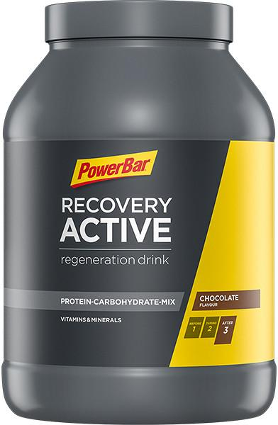 PowerBar Recovery Active Drink, 1210 g can, chocolate