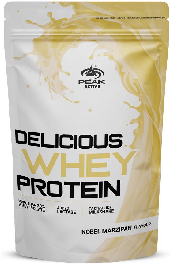 Peak Performance Delicious Whey Protein, 1000 g bag