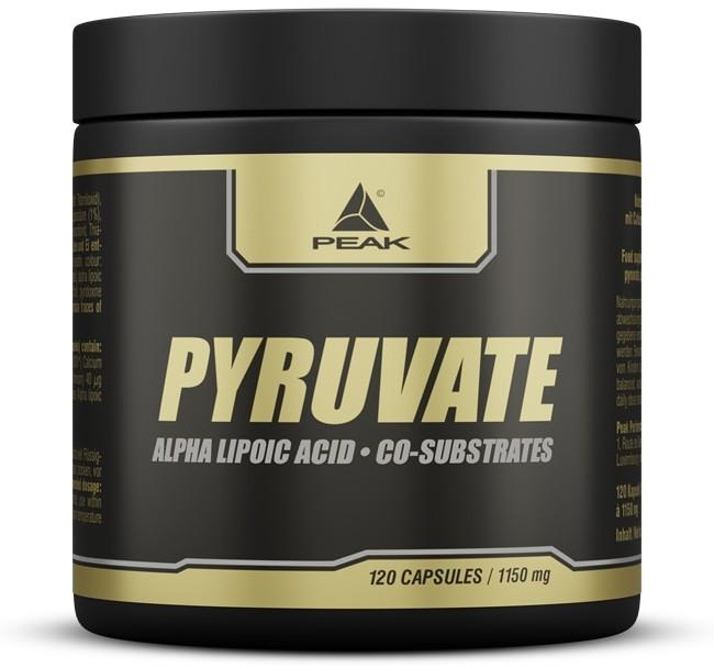 Peak Performance Pyruvate, 120 capsules