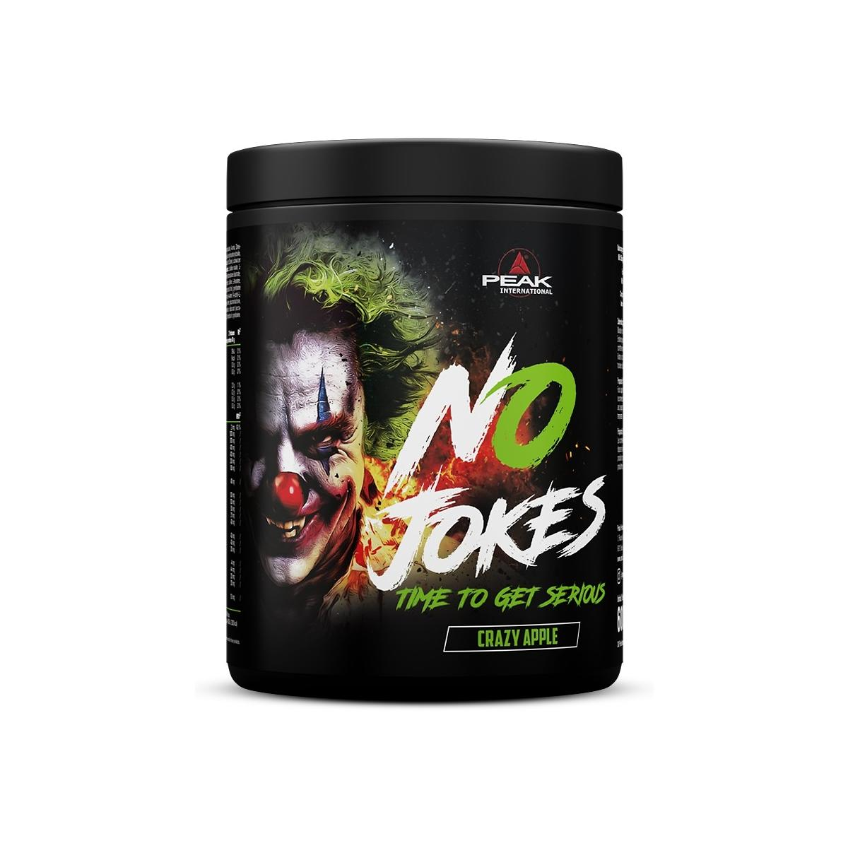 Peak International No Jokes Pre Workout Booster, 600 g can