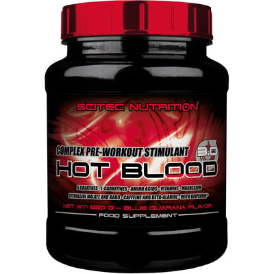 Scitec Nutrition Hot Blood 3.0, 820 g can