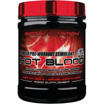 Scitec Nutrition Hot Blood 3.0, 300 g Dose