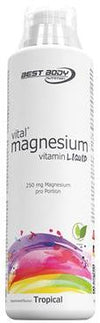 Best Body Nutrition Magnesium Vitamin Liquid, 500 ml bottle