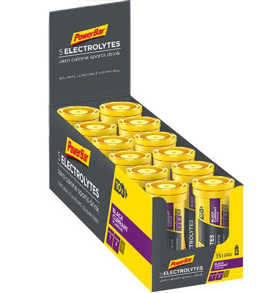 PowerBar 5 Electrolytes Sports Drink, 12 x 10 tabs