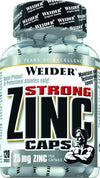 Joe Weider Strong Zinc Caps, 120 capsule tin