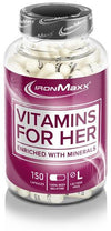 IronMaxx Vitamins for Her, 150 capsules can