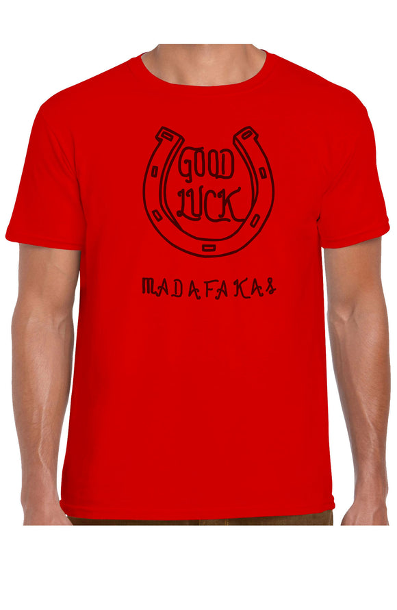 Camiseta GOOD LUCK unisex  boomlapop