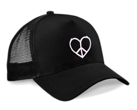 "GORRA TRUCKER ""PAZ"" UNISEX ( I LOVE YOUR WIFE )"