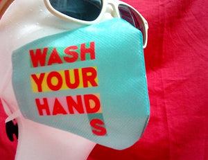 MASCARILLA NIÑ@ WASH YOUR HANDS
