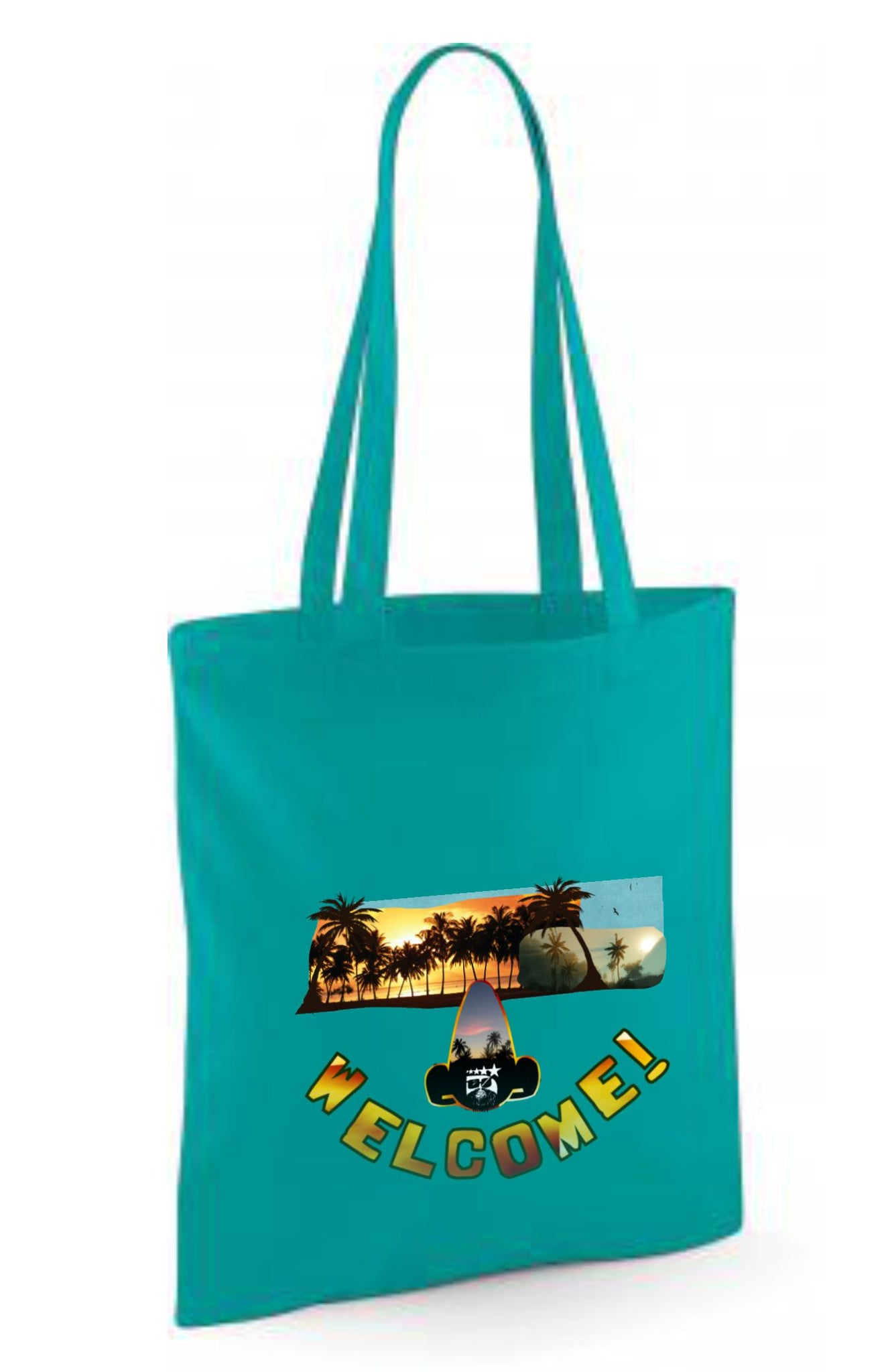 Tote Bag Algodón WELCOME! boomlapop unisex