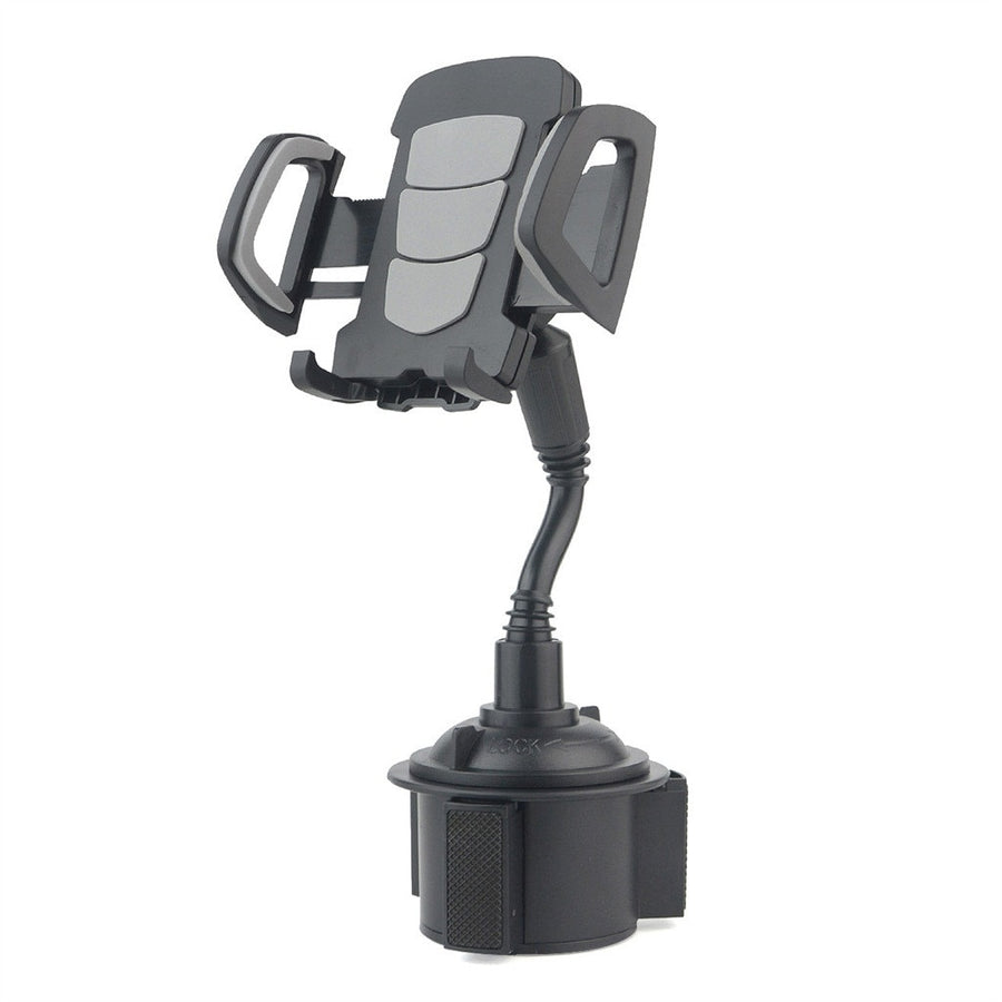 Gooseneck Car Phone Cup Holder Dock