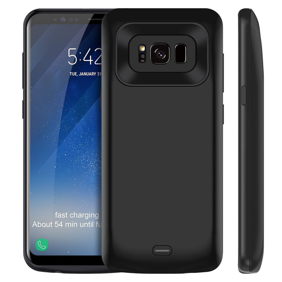 5000/5500mAh External Charging Case Samsung S8 S8Plus