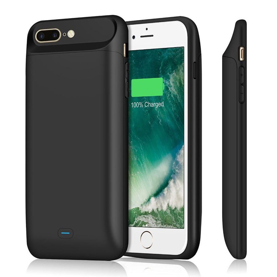 External 5000-7200mAh Smart Magnetic Charging Case for iPhone