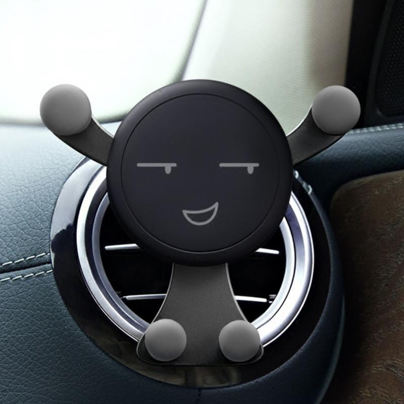 Cute Emoji Car Phone Dock