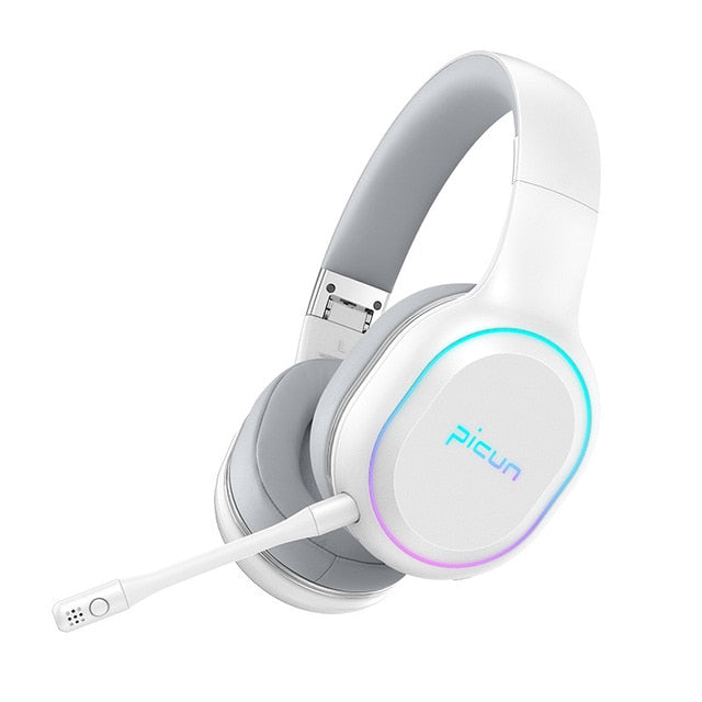 P80S Gaming Headphones Wireless Bluetooth 5.0 Headphone Gamer Headset Stereo Over Ear Wired Headphones With Mic for PS4,Xbox PC