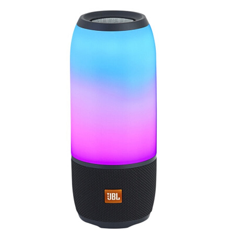 Speaker JBL Pulse 3 Bluetooth 4.2 IPX7 Waterproof 360° Lightshow Portable Outdoor Sound Box Enhanced Bass Speakers with Mic