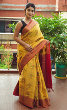 Load image into Gallery viewer, Mustard Color Women Silk Saree