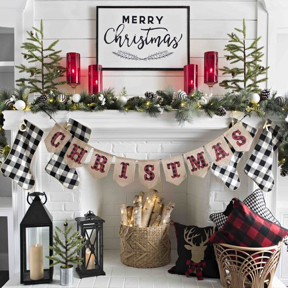 This blogger's farmhouse Christmas decor is all the holiday inspo we need