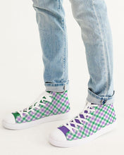 Load image into Gallery viewer, Pride Plaid Shoe - Unisex Large