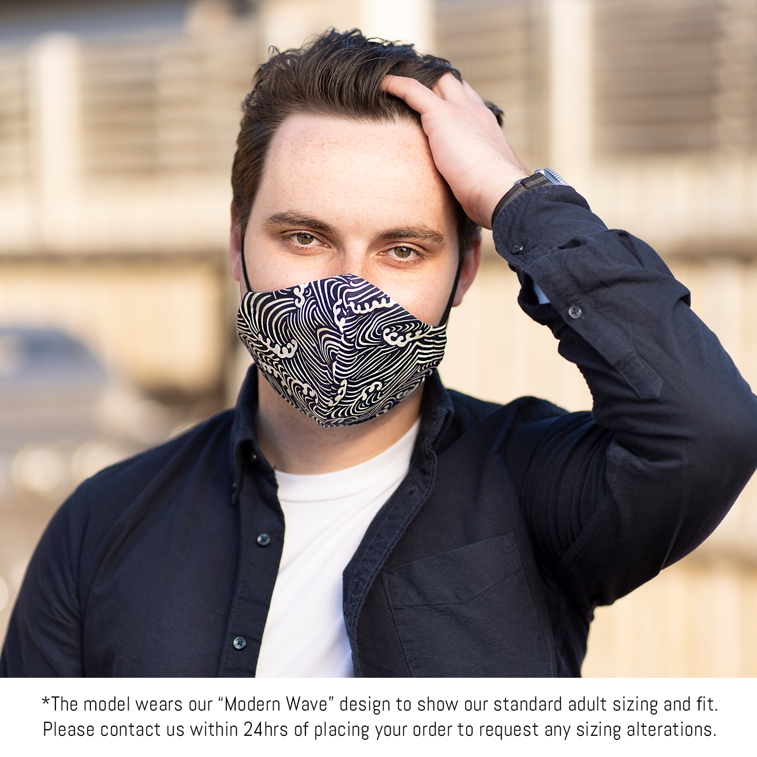 """Pollen Protector"" Floral Print Triple-layer Washable Face Mask"