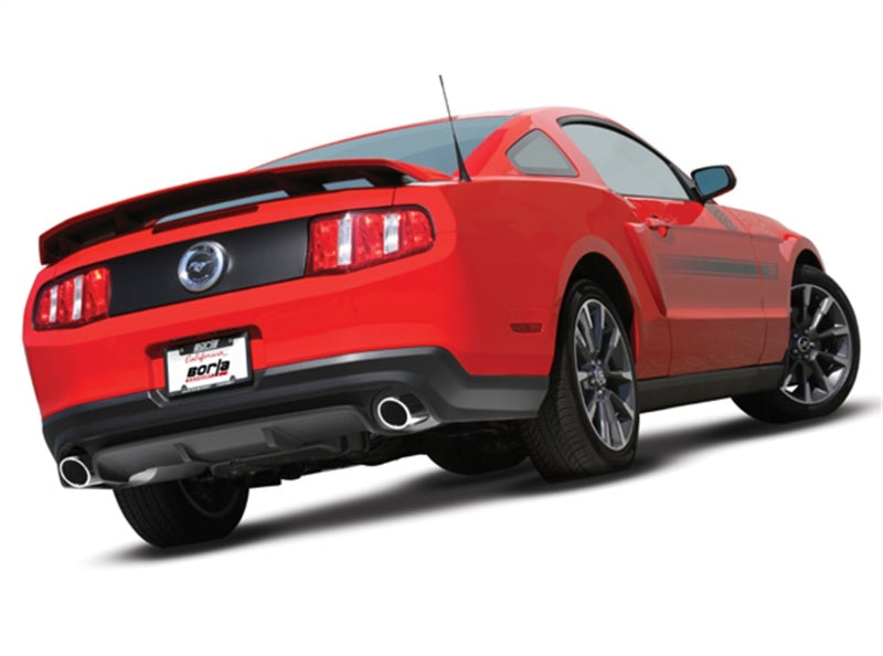 Borla 11-12 Ford Mustang GT/Shelby GT500 5.0L/5.45L 8cyl SS Catback Exhaust + inXin Pipe