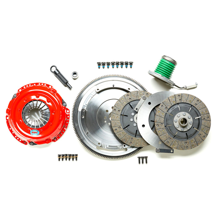 South Bend 99-04 Ford Mustang 4.6L (TR3250/TR3650 Trans) Comp Dual Disc Kit w/ Flywheel