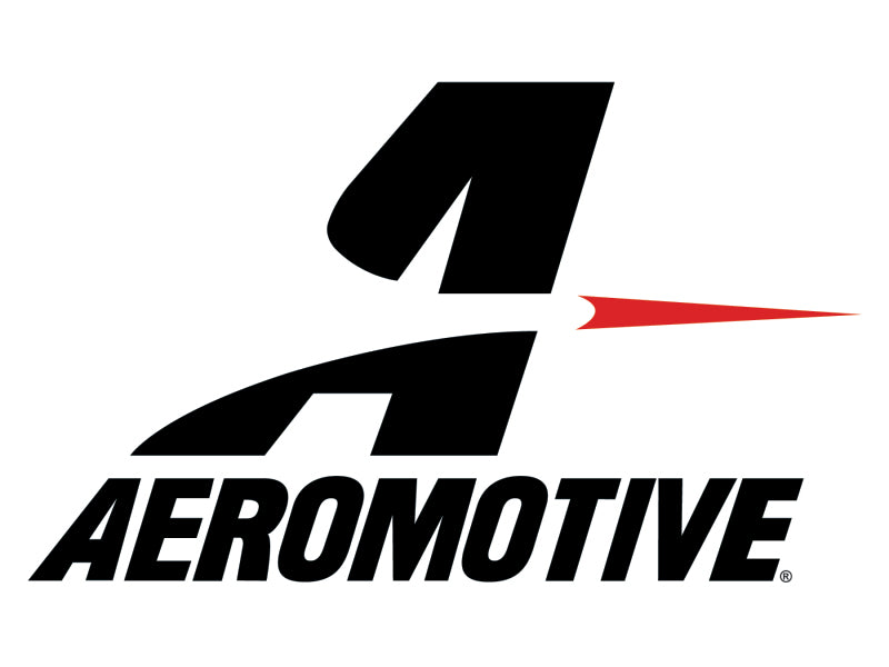 Aeromotive In-Line Fuel Filter 40-M Stainless Mesh Element ORB-10 Port (Bright-Dip Black) 2in. OD