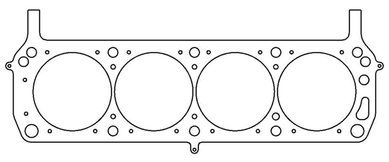 Cometic Ford 302/351 4.155in Round Bore .066 inch MLS Head Gasket