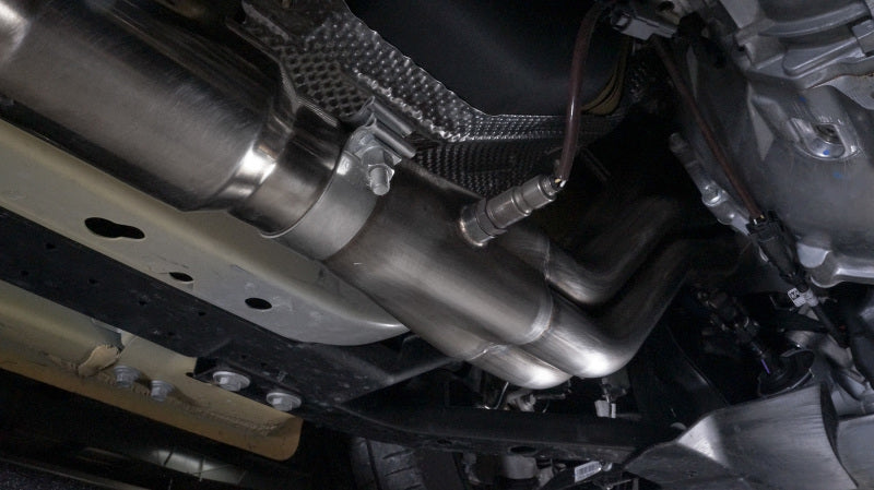 Stainless Works 2015+ Ford GT350 Headers 1-7/8in Primaries High-Flow Cats 3in Collectors