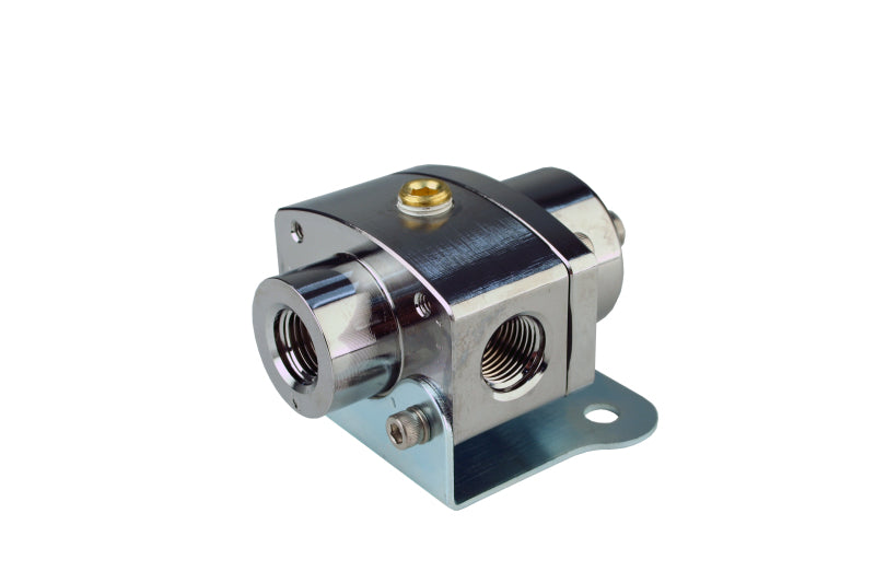 Aeromotive Carbureted Adjustable Regulator - Billet 2-Port AN-6 Platinum Series