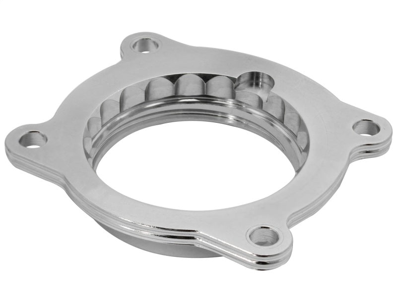 aFe Silver Bullet Throttle Body Spacer 10-14 Chevrolet Camaro V6 3.6L