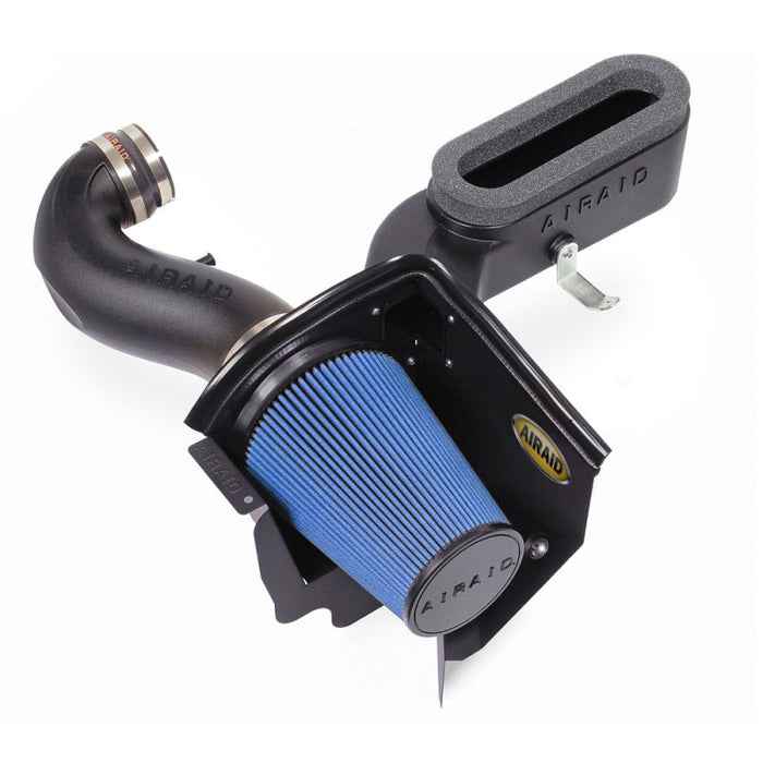 Airaid 06-10 Dodge Charger / 08 Magnum SRT8 6.1L Hemi CAD Intake System w/ Tube (Dry / Blue Media)