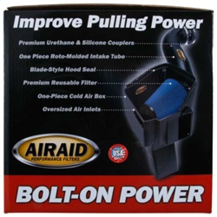 Airaid 11-14 Dodge Charger/Challenger MXP Intake System w/ Silicone Tube (Dry / Blue Media)