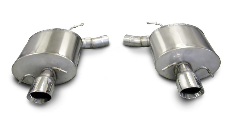 Corsa 09-13 Cadillac CTS Sedan V 6.2L V8 Polished Touring Axle-Back Exhaust