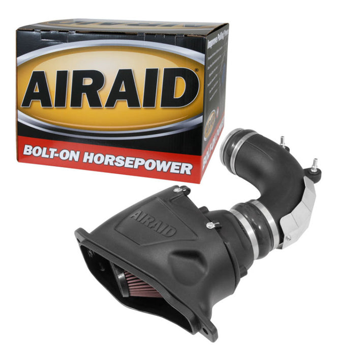 Airaid 14-18 Chevrolet Corvette V8-6.2L F/I Intake System w/ Tube (Oiled / Red Media)
